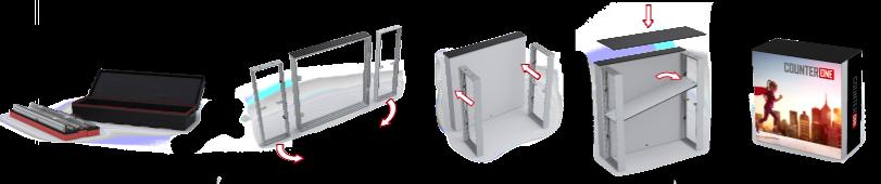 Multi Frame - Counter One Aufbau