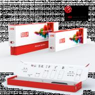 Multi Frame LEDUP Verpackung Variante1: Prämierte Kartonverpackung
