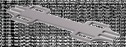 Multi Frame Mobile Systemverbindungsplatte gerade